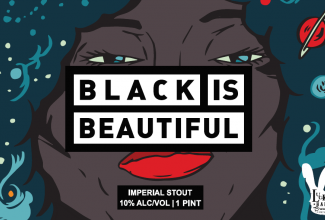 Black is Beautiful collaboratiokn beer imperial stout new beer local craft seneca lake hector ithaca new york