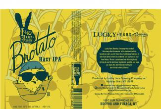 Brotato Hazy IPA Craft beer local beer ithaca press bay