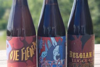 Grab all 3 of our delicious Belgian Style beers in the bottle for just $24 + Tax