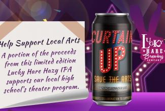 THE CURTAIN UP INITIATIVE @ LUCKY HARE BREWING COMPANY