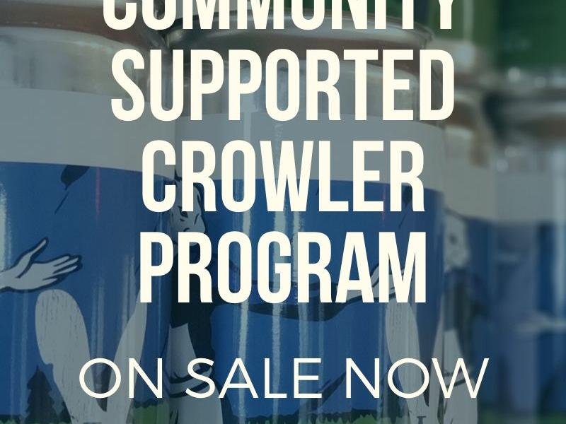 Community Supported Crowler Program - Lucky Hare Brewing pickup in Press Bay Alley
